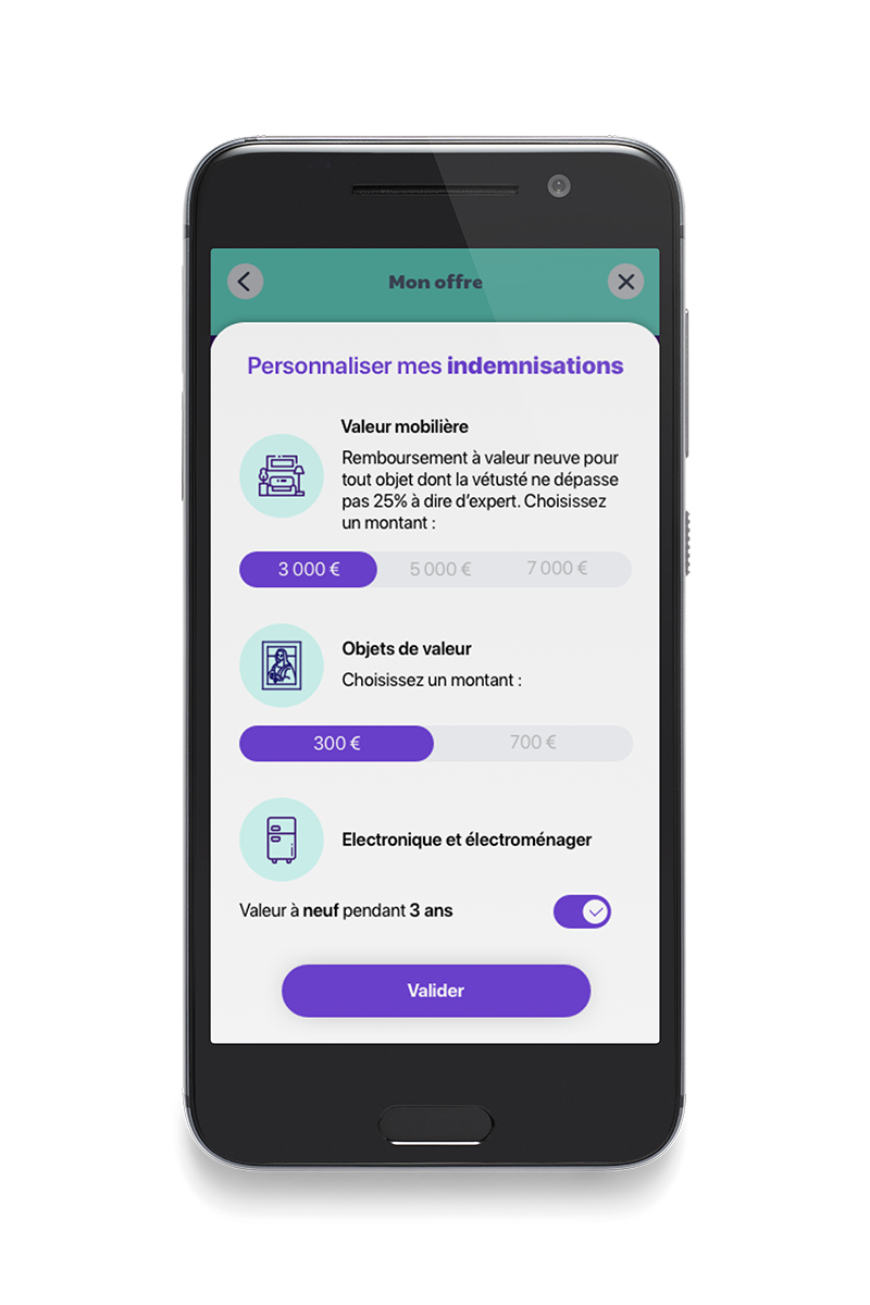 Example page leocare app